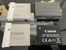Canon Battery Chargers NB-4L, NB-11LH, NB-1LH