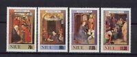 Niue 1990 SG#700-3 Christmas MNH Set