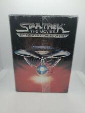 Star Trek-The Movies: 25th Anniversary Collector's Box Set 5 VHS NIB SEALED