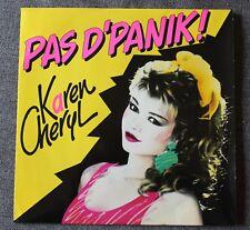 Karen Cheryl, pas d'panik / fleuve amour, SP - 45 tours
