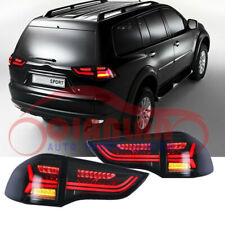 LED Smoke Black Taillight For Mitsubishi Pajero Sport Montero Sport 2011-2015