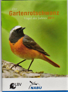 Der Gartenrotschwanz * Jahresvogel 2011 NABU Gefährdung Schutz Stimme + mehr