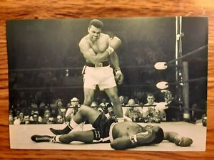 Muhammad Ali Boxing 4x6 Photo Picture Card