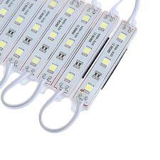 Paquete De 20 Tira LED 3 módulo SMD5050 banda Lámpara Luz Hada IP65 Impermeable DC 12V