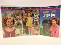 Shirley Temple Gift Set (VHS, 2000, 3-Tape Set)