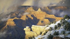 """Grand Canyon art by Robert Peters giclee canvas s/n 40"""" x 72"""" Yavapai Point"""