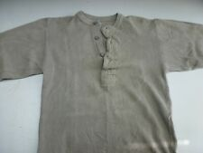 Swedish Army Collarless Shirt #4