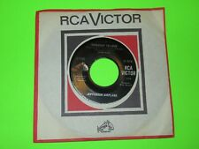"JEFFERSON AIRPLANE SOMEBODY TO LOVE / SHE HAS FUNNY CARS 7"" 45 EX"