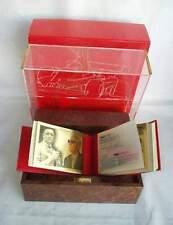 Libro d oro gold Enzo Ferrari il mito completo moneta medaglia