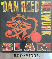 Dan Reed Network Slam Vinyl Record LP 1989 Mercury 8388681 + Lyric Inner Ex Con