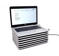 Lot of 7 HP EliteBook 840 G3 Laptops i5 6th Gen 128-256GB SSD 8-16GB RAM NO OS