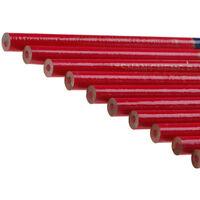 10 stücke 175mm Zimmermann Bleistifte Schwarz Blei Für DIY Holzbau Builder HobQH