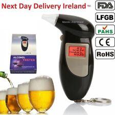 Alcohol Breathalyzer Police Digital Breath Analyzer Tester LCD Test Detector