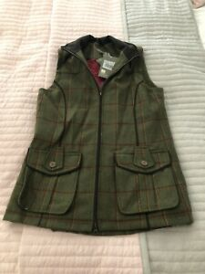 BNWT Musto Ladies Tweed Waistcoat - Size 12