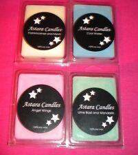 Astara Candles - Wax Melts 100% Soy Wax x 4 Packets Varied Scents.