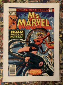 Ms MARVEL #16 - APR 1978 -  1st MYSTIQUE CAMEO APPEARANCE! - VFN+ (8.5) HOT!!!!!