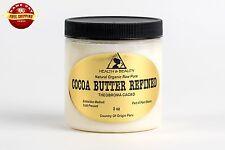 COCOA / CACAO BUTTER ULTRA REFINED ORGANIC by H&B Oils Center PREMIUM PURE 8 OZ