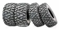 Set 4 WANDA ATV UTV Tires 26x10-12 Front & 26x11-12 Rear 6PR Bighorn Style AT
