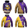 2020 New Men's Hoodie Minnesota Vikings Hooded 3D Sweatshirt Pullover Jacket Top