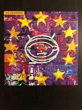 BONO U2 SIGNED AUTOGRAPH - VINYL ALBUM RECORD LP - ZOOROPA, THE EDGE, BECKETT