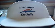 NEW Mens Legendary Lake Las Vegas The Falls White Golf Hi Crown Visor (B456)