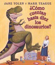 ?Como Cuentan Haste Diez Los Dinosaurios? (Spanish