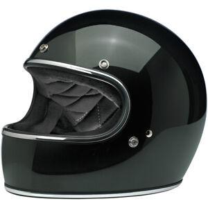 Biltwell Closeout Gringo Full Face DOT Helmet - Gloss Sierra Green