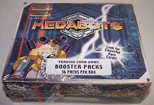 Upper Deck Medabots Trading Card Game Booster Packs 36 Packs Sealed Box