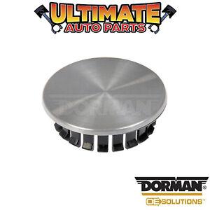 Dorman: 909-013 - Wheel Center Cap - Brushed Aluminum Finish