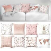 40X40CM Art Pattern Cotton Nordic Style Linen Sofa Cushion Cover Pillow Decor