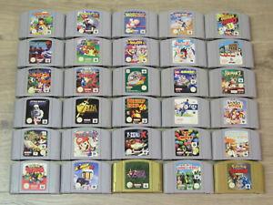 Nintendo 64 Spiele Zelda, Mario Kart, Smash Bros. Pokemon, Diddy Kong, Lylatwars