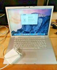 Apple MacBook Pro A1226 15.4″ 2.4Ghz Intel Core 2 duo 4GB ram 1TB ssd