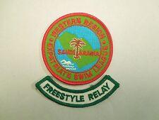 Saudi Arabia Expatriate Swim League Western Region Patch w/ Freestyle Relay Tab