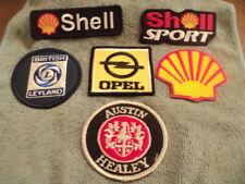 Vintage Patch Lot Of 5, Automotive, Shell, Opal, Austin Healey, British Leyland