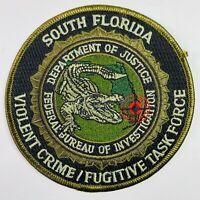 U.S MARSHAL PAROLE FUGITIVE TASK FORCE EMB PATCH 4.75X11/&3X6 HOOK ON BACK
