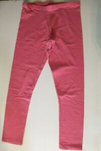 Faded Glory Girls Legging Size 7/8 Color Pink Comfy and Cute Spring Summer