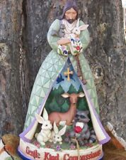 "Jim Shore, Enesco, 20"" Garden Diorama JESUS  Illuminated, Home or Garden statue"