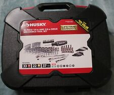 HUSKY 92-Piece Mechanics Tool Set 3/8 & 1/  in DRIVE SAE/MM - 623 923 - NEW