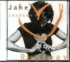 Janet Jackson - Runaway (CD, Single, 1995, A&M Records)