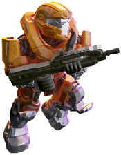 SEALED - Halo MegaBloks Foxtrot Series 15 UNSC Yellow Spartan JFO w/Battle Rifle