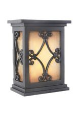 Craftmade Lighting-Ich1515-Bk-10.25 Led Outdoor Scroll Chime Black Finish with