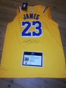 Lebron James hand Signed Lakers Jersey #23 COA