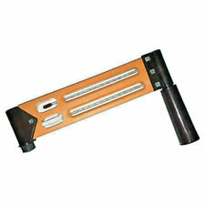 Bellstone Sling Psychrometer Whirling Hygrometer Thermometer Plastic Body