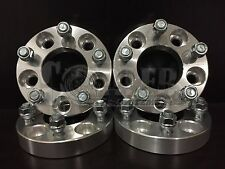 "4 X 1"" Thick Wheel Adapters Spacers 12x1.5 Studs 5x120 BMW 5 6 7 8 SERIES"