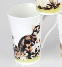 Roy Kirkham Cats Collection Glückskatze Henkelbecher Tasse 0,35 L