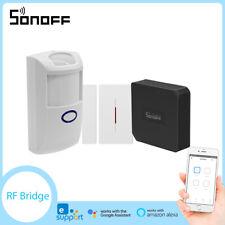 Sonoff Smart Home RF Bridge 433MHZ PIR2 Sensor DW1 DW2 Door Window Alarm Sensor