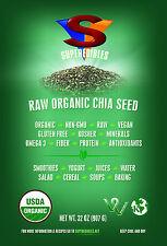Raw Organic Chia Seed 2 lb