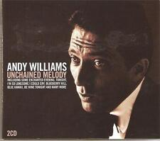 ANDY WILLIAMS UNCHAINED MELODY 2 CD BOX SET - BUTTERFLY & MANY MORE
