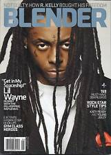 Blender music magazine Lil Wayne Gym Class Heroes R Kelly Rockstar style tips