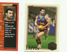 2018 SELECT LEGACY HALL OF FAME LIMITED EDITION BRISBANE NIGEL LAPPIN HFLE244